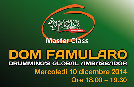 MASTER CLASS DOM FAMULARO s